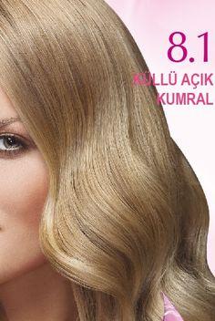 Nevacolor 2017 Saç Renk Kartelası - Nevacolor küllü açık kumral saç rengi