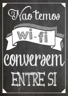 nao temos wifi