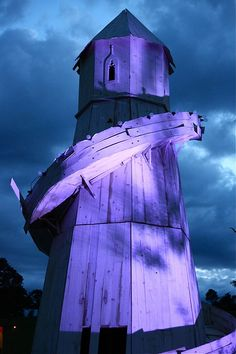 Purple Lighthouse'