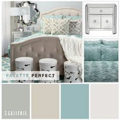 Palheta de cores para sala
