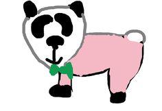 L'orsetto PO con il magioncino rosa- Martina