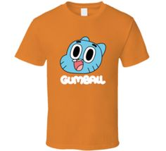 The Amazing world of gumball Darwin richard orange T Shirt