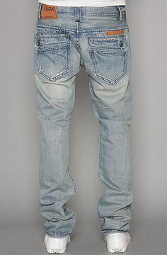 ORISUE  The Gibbs Slim Fit Jeans in Light Indigo