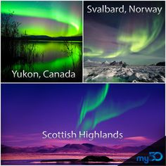 Where will you travel to see the Northern Lights?