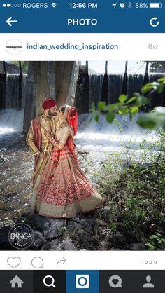 Simple bridal lengha