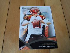 2012 Topps #PP-AD ANDY DALTON Prolific Playmakers Insert Card Cincinatti Bengals