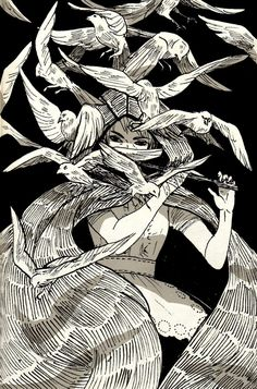 Music Witch; an art print | Juliette Cousin | INPRNT