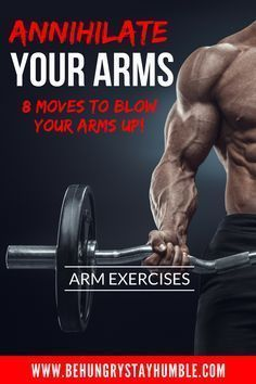 Obliterate your biceps and triceps by giving this intense arm workout a try. These arm exercises are sure to give you a crazy pump and help shock your muscles into growing! arm workout, fitness, bodybuilding, strength training, workouts for men Full Arm Workout, Killer Arm Workouts, Arm Workout Men, Bicep And Tricep Workout, Arm Workouts At Home, Biceps And Triceps, Arm Exercises, Ultimate Workout, Fitness Exercises