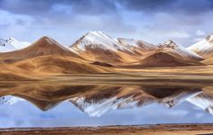Snow Mountain and Lake by Edward Xue on 500px