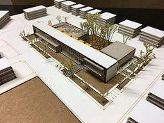 Archivierung – – Source by margaretavisuellegaleriecom - Cultural Architecture, Social Housing Architecture, Facade Architecture, School Architecture, Compound Wall Design, Green Facade, Architecture Concept Drawings, Hospital Design, Arch Model
