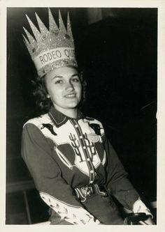 Queen of Rodeo Betty Joe 1949, vintage western wear
