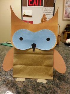 Misadventures of a YA Librarian: Paper Bag Owl