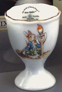 Beatrix Potter Peter Rabbit china egg cup NEW 15674