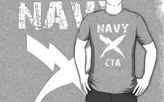 Just sold this design on a t-shirt and a sticker @ redbubble.com. US Navy CTA Insignia