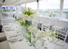 Stunning Floral Wedding Centerpieces That Will Melt Your Heart. http://www.modwedding.com/2013/03/14/white-is-for-good-vibes-and-amazing-centerpieces/ #wedding #weddings #reception #centerpieces #flower