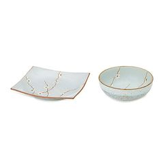 Look what I found at UncommonGoods: Spring Blossom Plate and Bowl for $NaN #uncommongoods