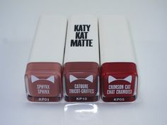 Covergirl Katy Kat Matte Lipsticks   Review & Swatches