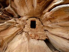 """""""Denny's Den"""" ANASAZI RUINS by Rick Schaefer: The Anasazi Pueblo People were an ancient culture of Native Americans. Known for impressive pueblo homes made of mud, stone, or carved into cliffs, these ruins can be found at many sites in the American Southwest."""