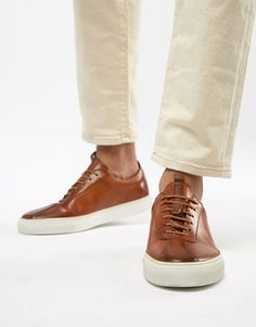 Grenson sneakers in tan leather Asos Online Shopping, Online Shopping Clothes, Nike Boots Mens, Boys Shoes, Men's Shoes, Asos Men, Fashion Gallery, Latest Fashion Clothes, Swagg