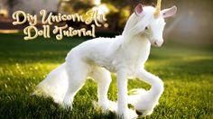 Diy Unicorn Art Doll Tutorial