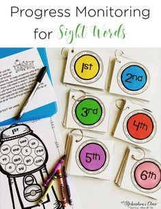 Sight word data tracking doesn't have to be tricky! See how this teacher made it easy for herself and engaging for students!