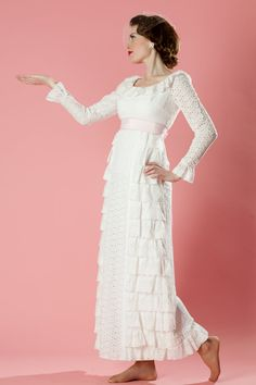 1960s eyelet wedding dress from http://www.etsy.com/shop/unionmadebride