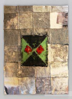 """Zoya Bolshakova, double-sided carpet panels """"Silent Steps"""", wool, felting, www.feltandpaper.net"""