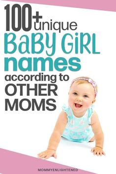 Looking for pretty unique girl names? Here is a list of all of our favorite uncommon girl baby names. From classically popular to unusual - we have over 100 options! #mommyenlightened #babynames #names #baby #girlnames #babygirl #newmom #uniquenames Pretty Unique Girl Names, Unusual Girl Names, Baby Girl Names Unique, Pretty Names, Irish Girl Names, Names Girl, Names Baby, Gaudi, Uncommon Girl Names