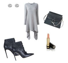 """Shades of grey"" by williamsnl ❤ liked on Polyvore featuring Alexander McQueen, Dsquared2, Chloé and Gucci"