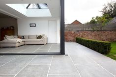 Beautiful and hard wearing natural stone tiles. Order a free sample of Worn Grey limestone tiles Patio Slabs, Patio Tiles, Outdoor Flooring, Outdoor Tiles Patio, Pool Pavers, Patio Stone, Limestone Patio, Limestone Tile, Stone Tiles