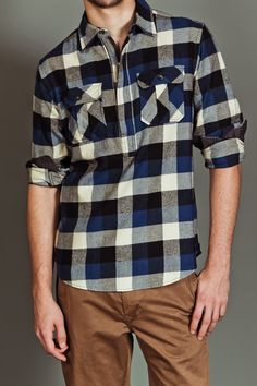 bold plaids. Yeah, I know they're old news but I still dig it.