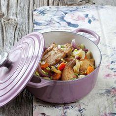 Recettes en famille | Régal Batch Cooking, Mayonnaise, Pot Roast, Risotto, Casserole, Crockpot, Menu, Dairy, Food And Drink