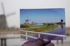 Turned to advantage Windmill, Holland, Dutch, Space, Water, Art, The Nederlands, Floor Space, Gripe Water