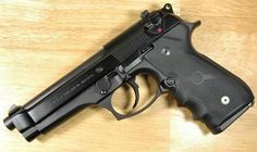 Beretta 92FS, my first baby. - www.Rgrips.com