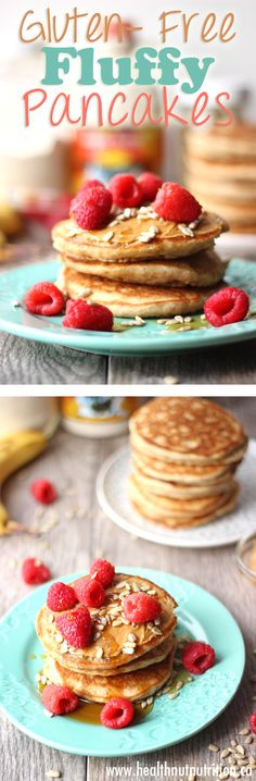 The Best Gluten-Free Fluffy Pancakes Ever - Healthnut Nutrition