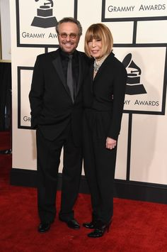 57th GRAMMYs Red Carpet (1 Of 2) - Barry Mann And Cynthia Weil - Special Merit Award recipients Barry Mann and Cynthia Weil arrive at the 57th Annual GRAMMY Awards on Feb. 8 in Los Angeles