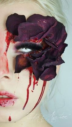 25+ Coolest Floral Makeup Looks #makeup #evatornadoblog #mycollection #makeupideas #bestlooks
