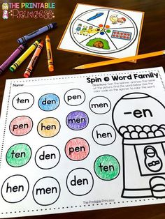 Your students will LOVE this FREE resource! Work on your CVC words by practicing -ug, -an, and -en words! Students will quickly and easily understand that words go together! This makes the learning process easier! These are great for literacy centers.