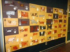 1st Grade Cave Art - some good alternate ideas for my existing lesson