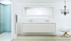 Fiora: In Touch Collection White furniture and seeds finishes