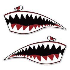 塗裝 Plus Size plus size duster Pinstriping, Nose Art, Kayak Decals, Shark Painting, Garage Art, Car Stickers, Kayaking, Fighter Jets, Art Drawings