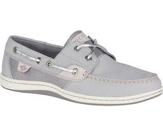 Sperry Top-Sider Koifish Sparkle Boat Shoes for Women in Grey STS81609