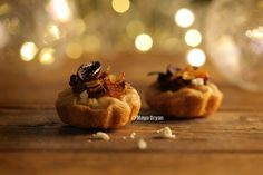 Caramelised Onions Tartelettes With Feta Cheese and Black Olives by Maya Oryan
