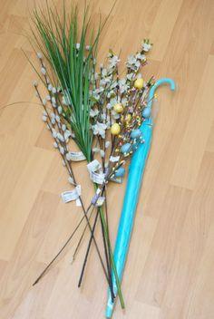 "Pocket Full of Whimsy: DIY - Spring Umbrella ""Wreath"""