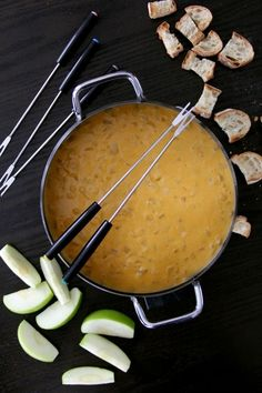 Beer Cheese Fondue | 16 Heavenly Cheese And Chocolate Fondues