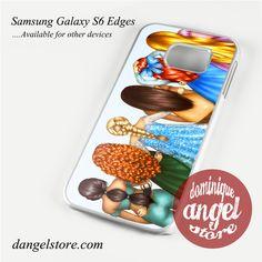 disney princesses Phone Case for Samsung Galaxy S3/S4/S5/S6/S6 Edge/S6 Edge Plus