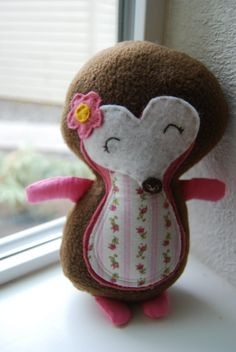 Mabel the Hedgehog by SideshowFriends on Etsy, $25.00