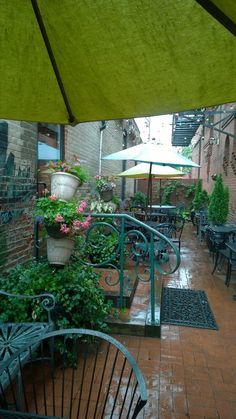 A cool space for lunch on a hot day. Join us!