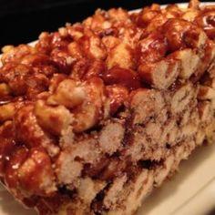 Chocolate Puffed-Wheat Squares - Allrecipes.com