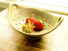 pottery colander - Google Search
